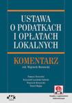 Ustawa O Podatkach I Opłatach Lokalnych Komentarz w sklepie internetowym Gigant.pl
