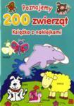 Poznajemy 200 Zwierząt Fk Br Książka Z Naklejkami w sklepie internetowym Gigant.pl