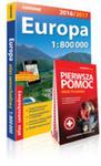 Europa Atlas Samochodowy 1:800 000 + Pierwsza Pomoc w sklepie internetowym Gigant.pl