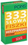 333 Słowa Fiszki Hiszpański Zestaw Startowy w sklepie internetowym Gigant.pl
