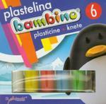 Plastelina Bambino 6 Kolorów w sklepie internetowym Gigant.pl