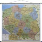 Polska Mapa Ścienna Administracyjno-drogowa 1:500 000 w sklepie internetowym Gigant.pl