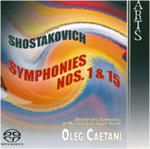 Shostakovich: Symphonies Nos. 1 & 15 w sklepie internetowym Gigant.pl