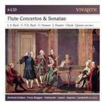 Flute Concertos & Sonatas: J. S. Bach, C. P. E. Bach, C. Stamitz, J. Stamitz, Gluck, Quantz And Others w sklepie internetowym Gigant.pl