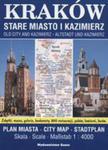 Kraków Stare Miasto I Kazimierz Plan Miasta 1:4000 w sklepie internetowym Gigant.pl