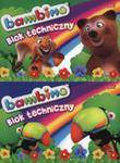 Blok Techniczny A4 Bambino 10 Kartek 10 Sztuk Mix w sklepie internetowym Gigant.pl