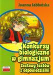 Konkursy Biologiczne W Gimnazjum. Zestawy Testów Z Odpowiedziami w sklepie internetowym Gigant.pl