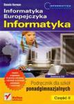 Informatyka Europejczyka Informatyka Część 2 Podręcznik Z Płytą Cd w sklepie internetowym Gigant.pl