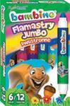 Flamastry Dwustronne Jumbo Bambino 12 Kolorów w sklepie internetowym Gigant.pl