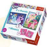 Puzzle 2w1+ Memos - Przyjaźń To Magia Trefl w sklepie internetowym Gigant.pl