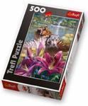 Puzzle 500 Malowane Tygrysy Trefl w sklepie internetowym Gigant.pl