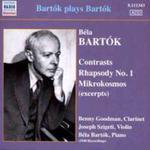 Bartok Plays Bartok - Contrasts, Rhapsody No. 1, Mikrokosmos w sklepie internetowym Gigant.pl