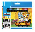 Kredki Świecowe Jumbo 12 Kolorów w sklepie internetowym Gigant.pl