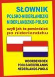 Słownik Polsko-niderlandzki, Niderlandzko-polski, Czyli Jak To Powiedzieć Po Niderlandzku w sklepie internetowym Gigant.pl