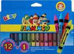 Kredki Świecowe Jumbo 12 Kolorów + 1 Kredka Fluo w sklepie internetowym Gigant.pl