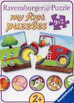 Puzzle Moje Pierwsze Puzzle Zwierzęta Na Farmie 9x2 w sklepie internetowym Gigant.pl