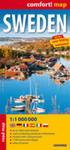 Sweden Road Map 1:1 000 000 w sklepie internetowym Gigant.pl