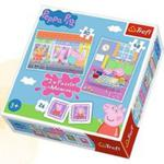Puzzle 2w1+ Memos - Dzień Peppy Trefl w sklepie internetowym Gigant.pl