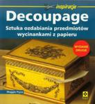 Decoupage. Sztuka Ozdabiania Przedmiotów Wycinankami Z Papieru. w sklepie internetowym Gigant.pl