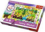 Puzzle Edukacyjne Leśny Alfabet Trefl w sklepie internetowym Gigant.pl