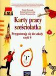 Karty Pracy Sześciolatka Przygotowuję Się Do Szkoły Część 4 w sklepie internetowym Gigant.pl