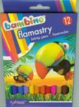 Flamastry Bambino 12 Kolorów w sklepie internetowym Gigant.pl