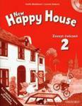 New Happy House 2 Zeszyt Ćwiczeń + Cd w sklepie internetowym Gigant.pl