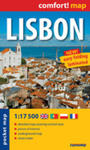 Lisbon Laminowany Plan Miasta 1:17 500 - Mapa Kieszonkowa w sklepie internetowym Gigant.pl