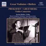 Heifetz - Prokofieff Grunberg : Violin Concerto w sklepie internetowym Gigant.pl