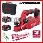 M18BP-402C Milwaukee STRUGARKA szerokość 82mm, głębokość strugania 0 do 2mm, 2xAku 18V/4.0Ah, ładowarka, walizka (4933451114) w sklepie internetowym makita.istore.pl