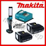 Zestaw akumulatorowe oświetlenie zastępcze BML801 MAKITA latarka 12x LED 18V/14.4V Li-Ion (lampa) w tym 2 akumulatory 14,4/1.3Ah BL1415 i ładowarka w sklepie internetowym makita.istore.pl