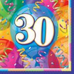 Serwetki papierowe, urodzinowe | 16 szt./op. w sklepie internetowym Partykiosk