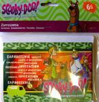 Zaproszenia urodzinowe Scooby Doo 6szt./op. w sklepie internetowym Partykiosk