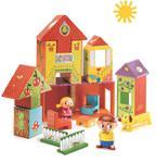 Domki z kartonu i postacie do zabawy w sklepie internetowym Partykiosk