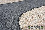 Obrzeże ogrodowe (trawnikowe) Bordeo R5 45 mm x 1 m – kolor czarny w sklepie internetowym Rolmarket.pl