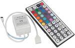 Kontroler Sterownik RGB 72W IR + pilot 44p. w sklepie internetowym MeaLux