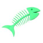 Mydelniczka Wishbone, turkusowa - Umbra - 020960 - 040 w sklepie internetowym Mullo