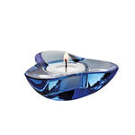 Ozdobny świecznik tealight AURA, ciemny niebieski - STELTON - x-32-2 w sklepie internetowym Mullo