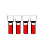 Kieliszki do likieru Club, czerwone - SAGAFORM - 5015690 w sklepie internetowym Mullo