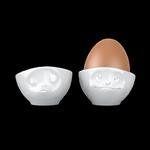 Kieliszki do jajek CAŁUJĄCA I ROZMARZONA BUŹKA - 58Products - T015101 w sklepie internetowym Mullo