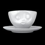 Filiżanka do kawy porcelanowa CAŁUJĄCA BUŹKA - 58Products - T014201 w sklepie internetowym Mullo
