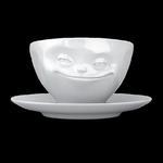 Filiżanka do kawy porcelanowa UŚMIECHNIĘTA BUŹKA - 58Products - T014101 w sklepie internetowym Mullo