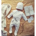 5-el.wyprawka dla noworodka 100% bawełny, r.50-68 w sklepie internetowym esklep-dla-dzieci.pl