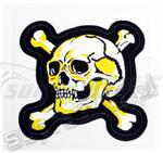 Naklejka czaszka żółta w sklepie internetowym supraBIKE