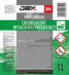 JAX PROFESSIONAL 30 - CHLOREAGENT MYJĄCO-DEZYNFEKUJĄCY JAX PROFESSIONAL 30 - CHLOREAGENT MYJĄCO-DEZYNFEKUJĄCY w sklepie internetowym chemhurt.pl