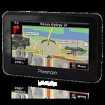 """Nawigacja Prestigio GeoVision 4120 [4,3""""] z mapą Polski MapaMap w sklepie internetowym Artdesign.com.pl"""