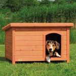 TRIXIE Buda dla psa NATURA płaski dach M 85 × 58 × 60 cm Border Collie w sklepie internetowym NaszeZOO