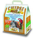 JRS Chipsi Mais Citrus 10l.- Podściółka z kolb kukurydzy o cytrynowym zapachu dla gryzoni w sklepie internetowym NaszeZOO