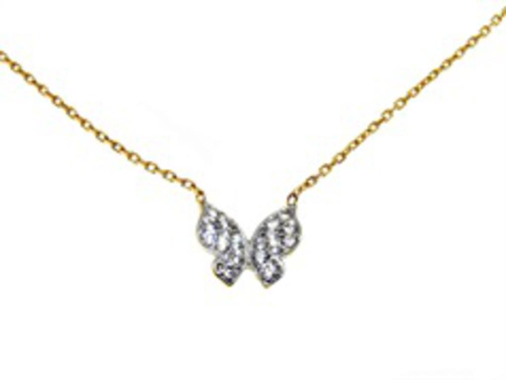 39eab1e505bd85 Złoty naszyjnik z motylem celebrytka YES VERONA w sklepie internetowym  Legance.pl. Powiększ zdjęcie