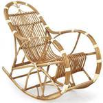 Wiklinowy fotel bujany Ulmer w sklepie internetowym Edinos